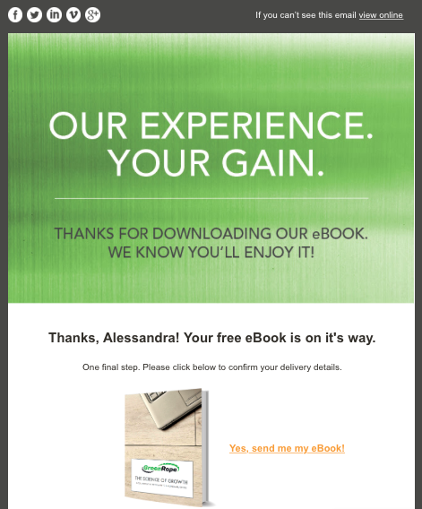 ebook confirmation email pic