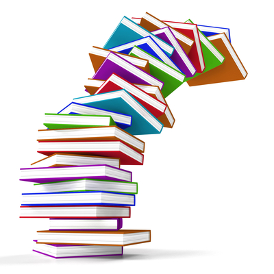 stack-of-colorful-falling-books